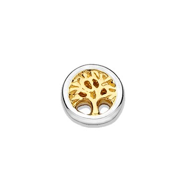 Storie Storie Gold Mix Tree of Life Charm  - Click to view larger image