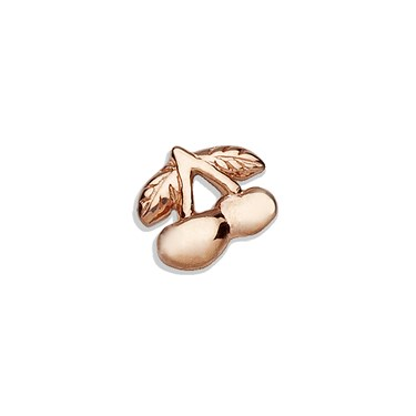 Storie Storie Rose Gold Cherry Charm  - Click to view larger image