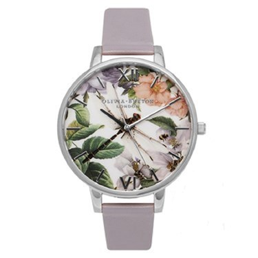 Olivia Burton Argento Exclusive Enchanted Garden Watch  - Click to view larger image