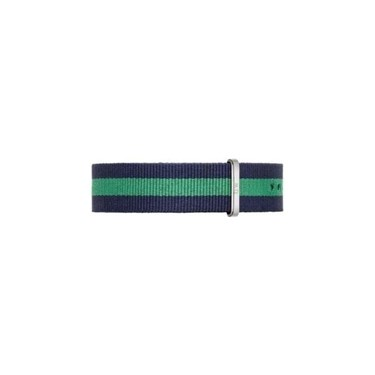 Daniel Wellington Warwick Navy & Green NATO 20mm Strap  - Click to view larger image