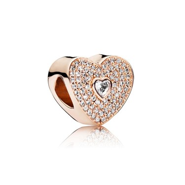 Pandora Rose Sweetheart Charm  - Click to view larger image