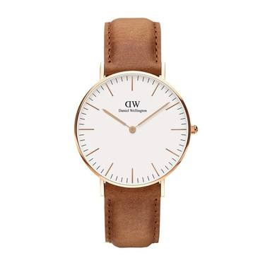 Daniel Wellington Classic 36mm Rose Gold Durham Watch  - Click to view larger image