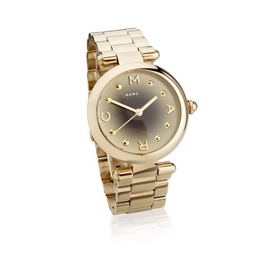 Marc by Marc Jacobs Dotty Ombre Dial Gold Bracelet Watch  - Click to view larger image