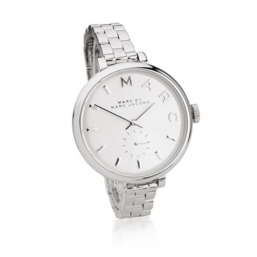 Marc by Marc Jacobs Sally Silver Dial Stainless Steel Watch