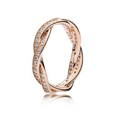 Pandora Twist of Faith Ring  - Click to view larger image