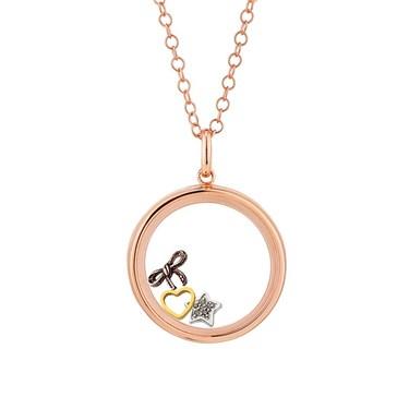 Storie Loving Memories Rose Gold Locket Gift Set