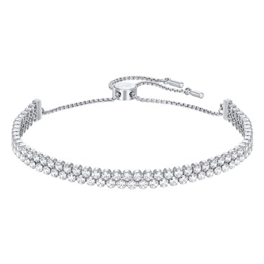 Swarovski Subtle Rhodium Bracelet  - Click to view larger image