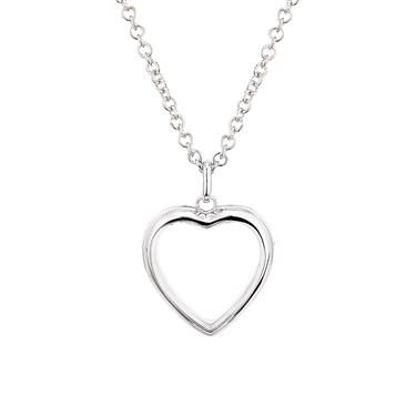 Storie Silver Heart Locket  - Click to view larger image