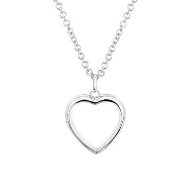 Storie Silver Heart Locket