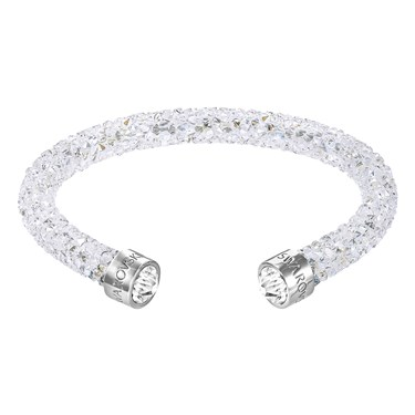 Swarovski Crystaldust White Cuff Bangle  - Click to view larger image
