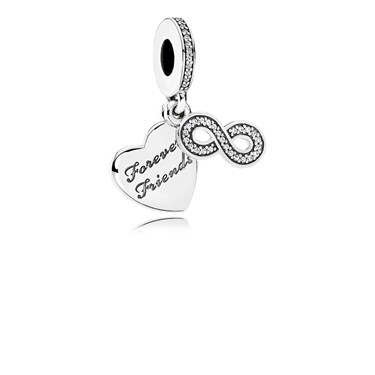 Pandora Forever Friends Charm  - Click to view larger image