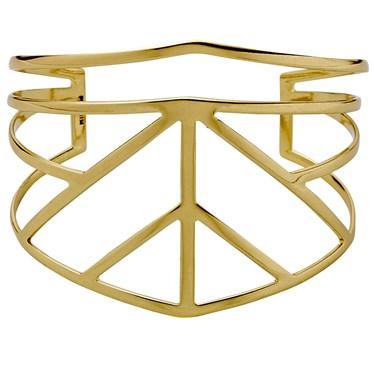 PILGRIM Gold Plated Spire Bracelet