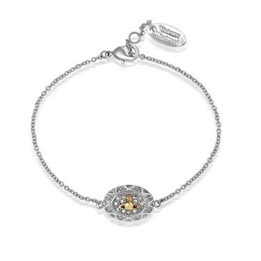 Vivienne Westwood Silver & Gold Liliana Bracelet