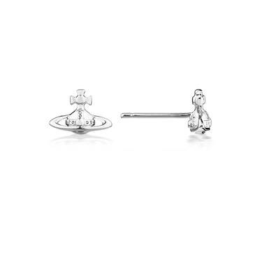 Vivienne Westwood Silver Lorelei Studs  - Click to view larger image