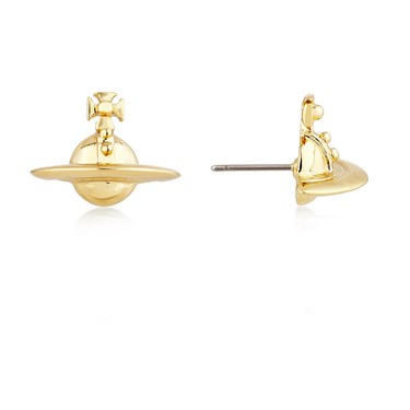 Vivienne Westwood Gold Orb Studs  - Click to view larger image