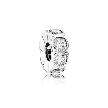 Pandora Alluring Cushion Crystal Spacer