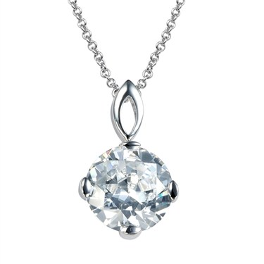 Argento Necklace With Cubic Zirconia