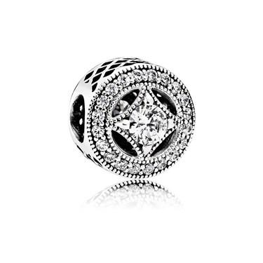 Pandora Vintage Allure Crystal Charm