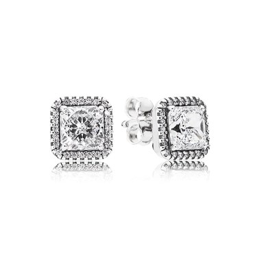 PANDORA Timeless Elegance Stud Earrings  - Click to view larger image