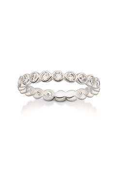 Thomas Sabo Silver Spotlight Band Ring  - Click to view larger image