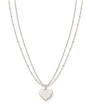 Thomas Sabo Silver Token of Love Necklace  - Click to view larger image