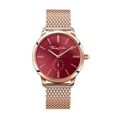Thomas Sabo Glam Spirit Rose Gold & Red Watch  - Click to view larger image