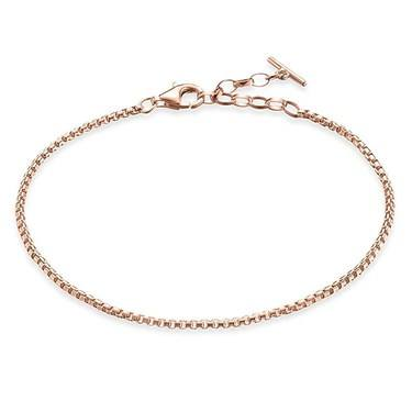 Thomas Sabo Rose Gold Filigree Bracelet  - Click to view larger image