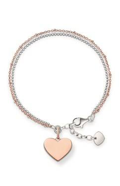 Thomas Sabo Rose Gold Token of Love Bracelet  - Click to view larger image