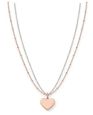 Thomas Sabo Rose Gold Token of Love Necklace
