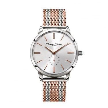 Thomas Sabo Glam Spirit Rose Gold & Silver Watch  - Click to view larger image