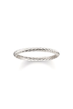 Thomas Sabo Fine Silver Twist Ring  - Click to view larger image
