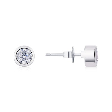 Storie Crystal Stud Earrings  - Click to view larger image