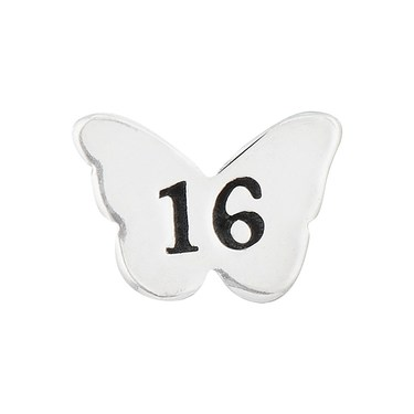 Storie Sweet 16 Butterfly Charm  - Click to view larger image