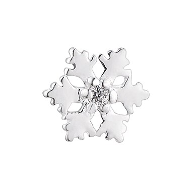 Storie Sparkly Snowflake Charm  - Click to view larger image