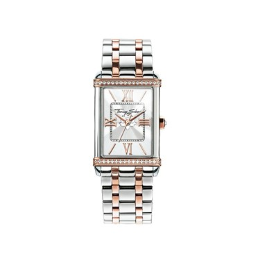 Thomas Sabo Silver & Rose Gold Century Watch  - Click to view larger image