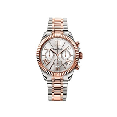 Thomas Sabo Rose Gold & Silver Chrono Bracelet Watch   - Click to view larger image
