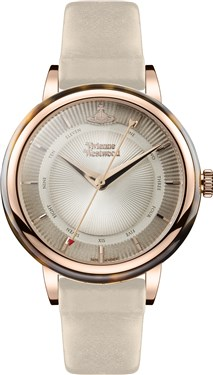 Vivienne Westwood Beige & Rose Gold Portobello Watch  - Click to view larger image