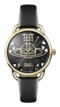 Vivienne Westwood Black Leadenhall Watch  - Click to view larger image