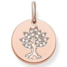 Thomas Sabo Tree of life coin  - Click to view larger image