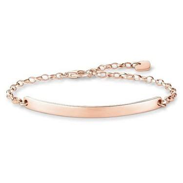 Thomas Sabo Rose Gold Bracelet  - Click to view larger image