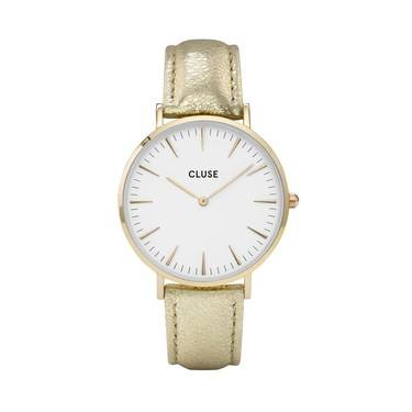 CLUSE La Bohème Gold Metallic Watch  - Click to view larger image