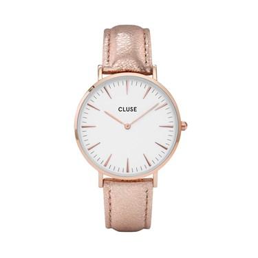 CLUSE La Bohème Rose Gold Metallic Watch  - Click to view larger image