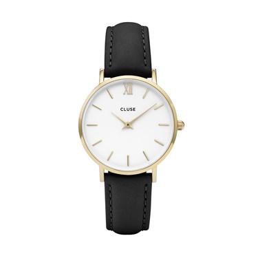 CLUSE Minuit Gold & Black Watch