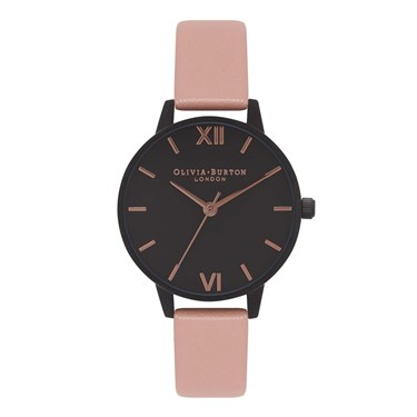 Olivia Burton After Dark Midi Dusty Pink Watch  - Click to view larger image