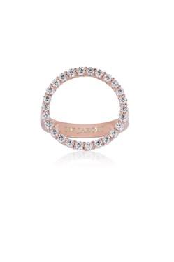 Sif Jakobs Rose Gold Biella Grande Circle Ring