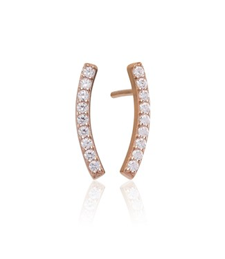 Sif Jakobs Rose Gold Fucino Studs