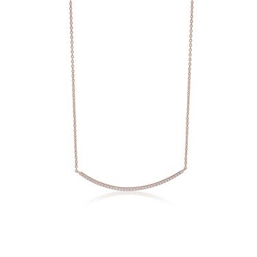 Sif Jakobs Rose Gold Fucino Necklace