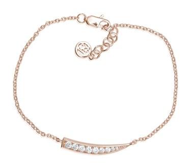 Sif Jakobs Rose Gold Pila Bracelet