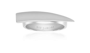 Sif Jakobs Silver Pila Pianura Ring