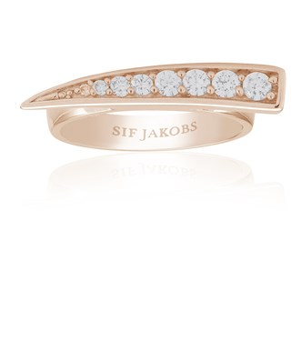 Sif Jakobs Rose Gold Pila Ring
